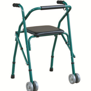 Cadru de mers cu scaun si rotile Dr.Happy JL914 - www.Tehnicomed.ro