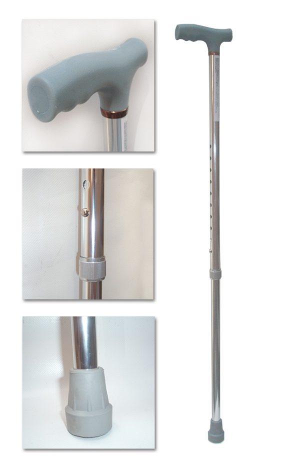 Baston din aluminiu reglabil Dr.Happy jl920l - www.Tehnicomed.ro