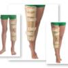 Orteză de genunchi cu fixare suplimentară