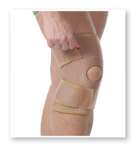 Orteza de genunchi mobila cu pelota