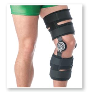 Orteza de genunchi pentru perioada post-operatorie mobila