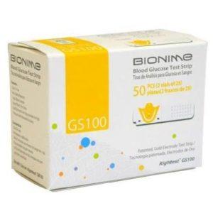 Teste pentru măsurarea glicemiei Bionime GS 100 - Tehnicomed.ro